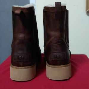 UGG leather boots.